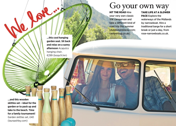 Have you seen us in the Summer edition of Sainsbury's Magazine?